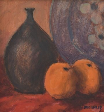 Eric Ward Original Oil Painting Still Life